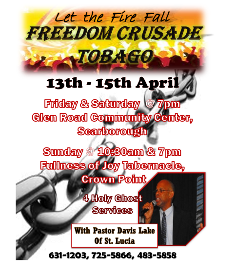 Freedom Crusade Flyer